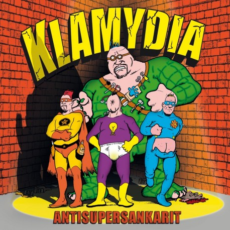 Klamydia: Antisupersankarit (CD)