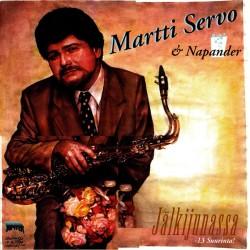 Martti Servo & Napander: Jälkijunassa - 13 suurinta (LP)