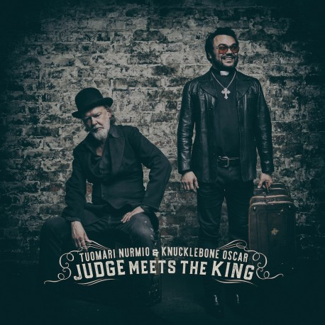 "Tuomari Nurmio & Knucklebone Oscar: Judge Meets The King (7"" EP)"
