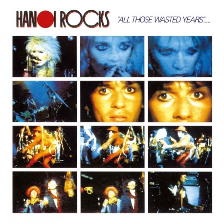 Hanoi Rocks: All Those Wasted Years (LP)