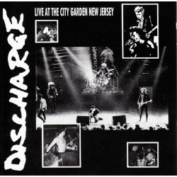 Discharge: Live at the City Garden New Jersey (LP)