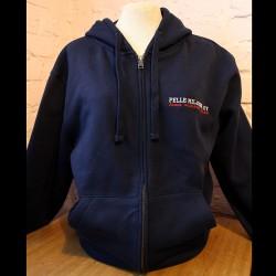 Pelle Miljoona OY -hoodie
