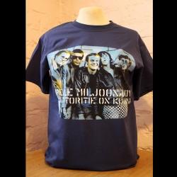 Pelle Miljoona OY Moottoritie (blue t-shirt)