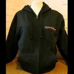 Pelle Miljoona OY -hoodie (black)