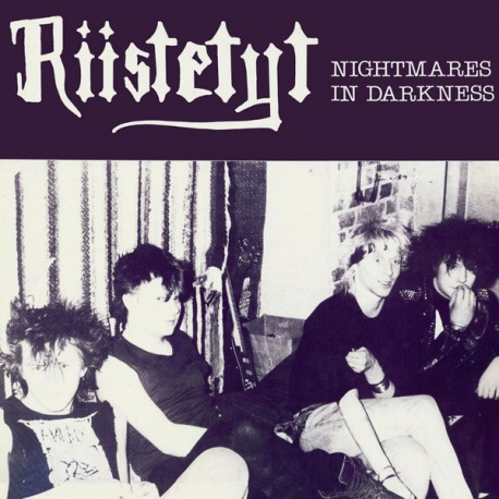 Riistetyt: Nightmares In Darkness (LP, black)
