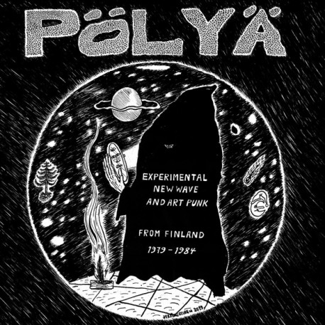 Various Artists: Pölyä - Experimental New Wave and Art Punk from Finland (2LP)