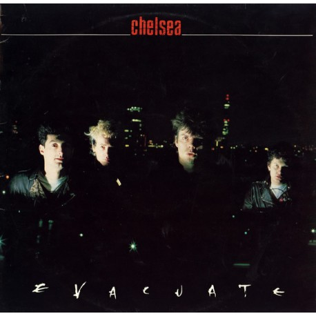 Chelsea: Evacuate (red 2LP)