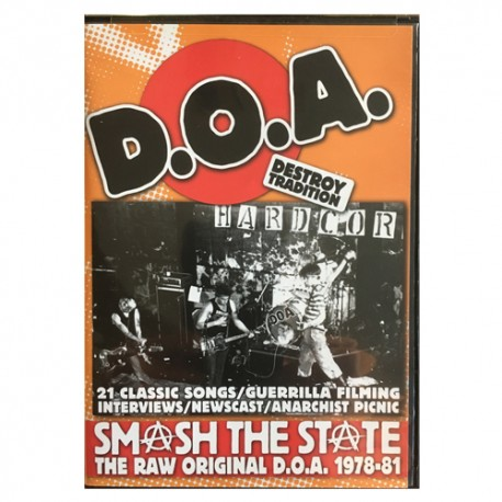 D.O.A.: Smash The State (DVD)