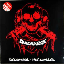 Discharge: Decontrol - The Singles (2 red LP)