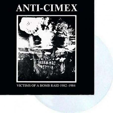 Anti Cimex: Victims Of A Bomb Raid 1982-1984 (clear LP)