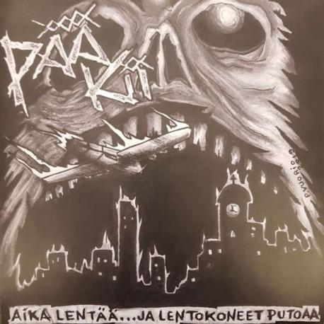 """Pää Kii: Aika Lentää... Ja Lentokoneet Putoaa (7""""EP)"""