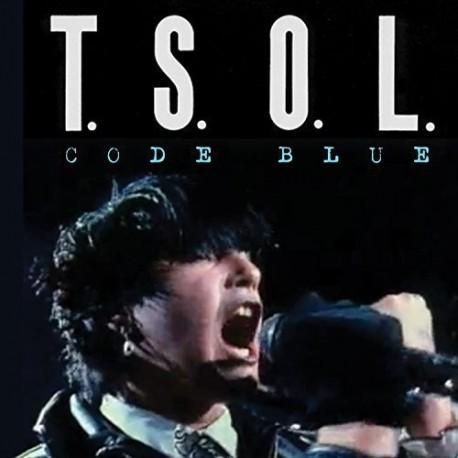 T.S.O.L.: Code Blue (blue LP)