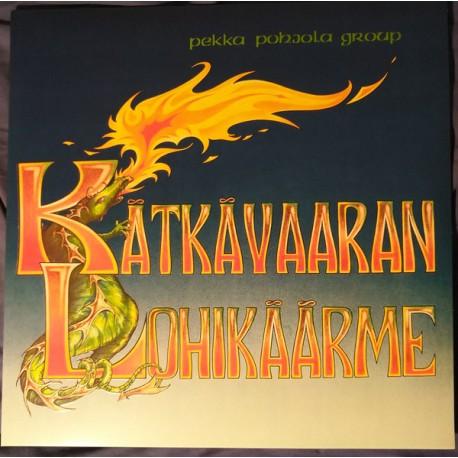 Pekka Pohjola: Kätkävaaran Lohikäärme (orange LP)