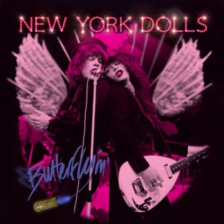 New York Dolls: Butterflyin' (pink LP)