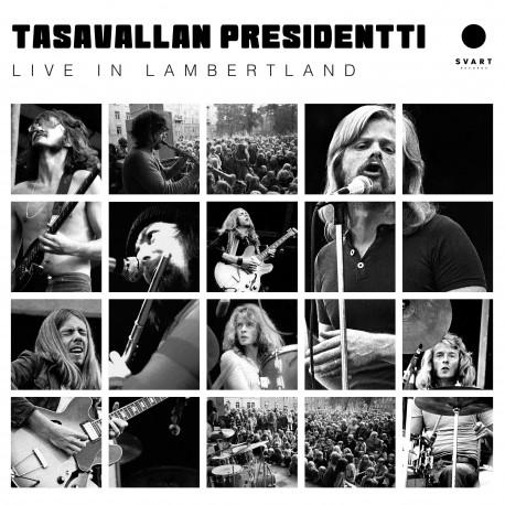Tasavallan Presidentti: Live In Lambertland (gold 2LP)