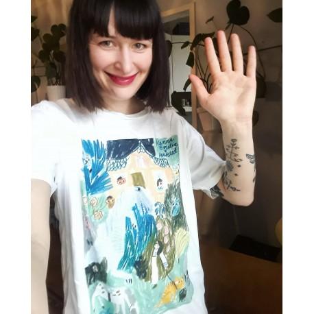Henna Emilia & Houreet T-paita