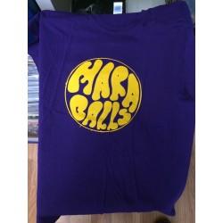 Mara Balls T-paita (purple)