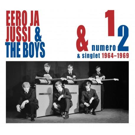 Eero, Jussi & the Boys: Numero 1 & Numero 2 + singlet 1964–1969 (3CD)