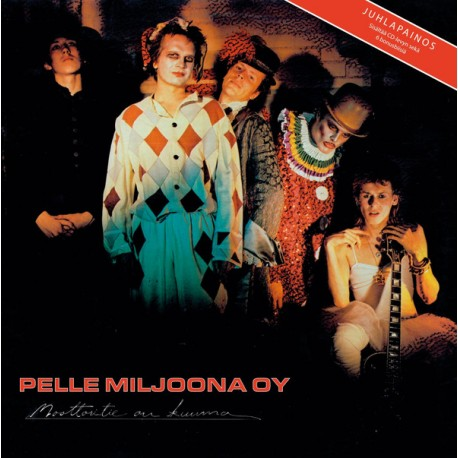 Pelle Miljoona OY: Moottoritie on kuuma (LP+CD, RE, BLACK)