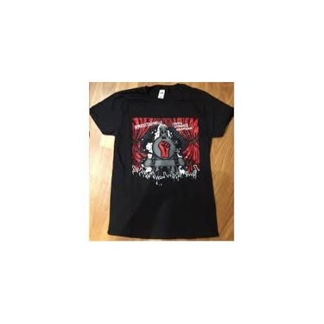 Nyrkkitappelu: Isosta nyrkistä naamaan (T-paita)