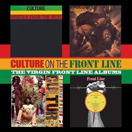Culture: On The Front Line - The Virgin Front Line Albums (2CD)