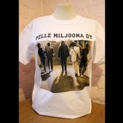Pelle Miljoona OY valkoinen T-paita
