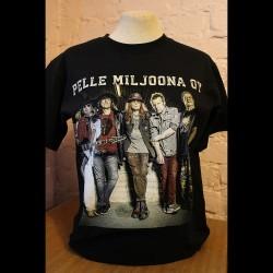 Pelle Miljoona OY Anna soihtusi palaa t-paita (musta)