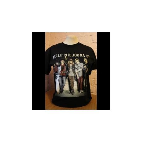 Pelle Miljoona OY Anna soihtusi palaa t-shirt (black)