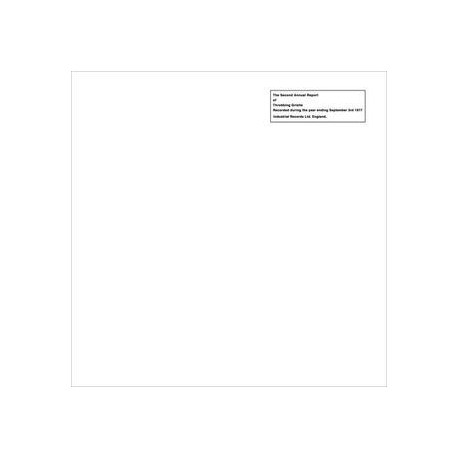Throbbing Gristle: The Second Annual Report (white LP)