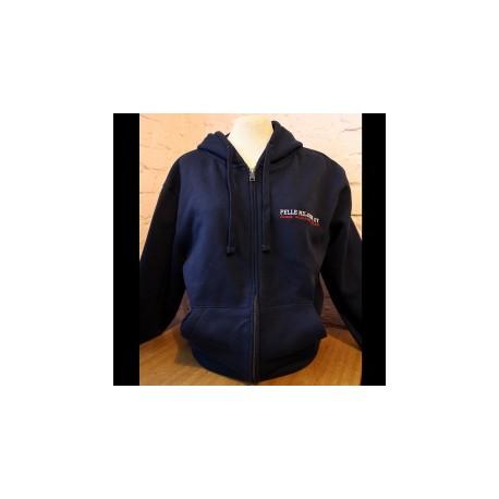 Pelle Miljoona OY -hoodie (blue)