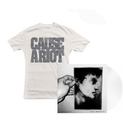 Cause A Riot: Final Broadcast (clear LP+T-shirt bundle)