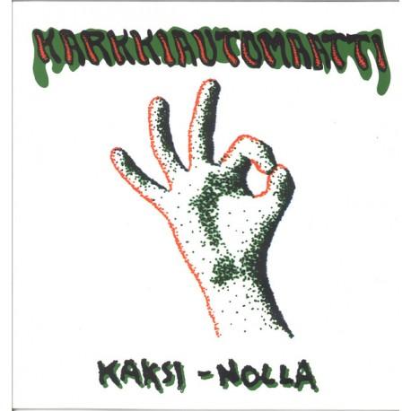 Karkkiautomaatti: Kaksi-Nolla (green LP)