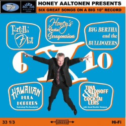 "Honey Aaltonen: 6 X 10 (10"" EP)"