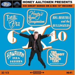 "Honey Aaltonen: 6 X 10 (10"" EP)"