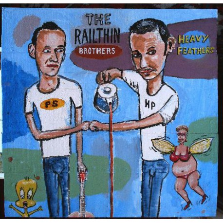 """The Railthin Brothers: Heavy Feathers (10"""")"""