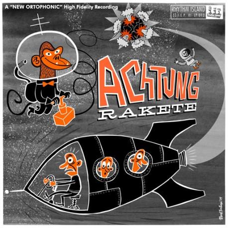 "Achtung Rakete!: Achtung Rakete (10"")"