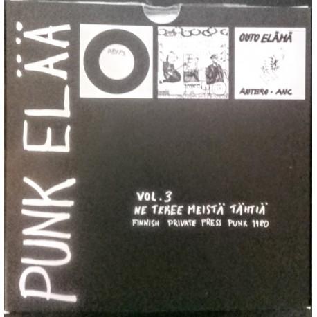 """Various Artists: Punk Elää Vol. 3 (3x7"""")"""