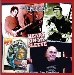Attila The Stockbroker: Heart on my sleeve (LP)
