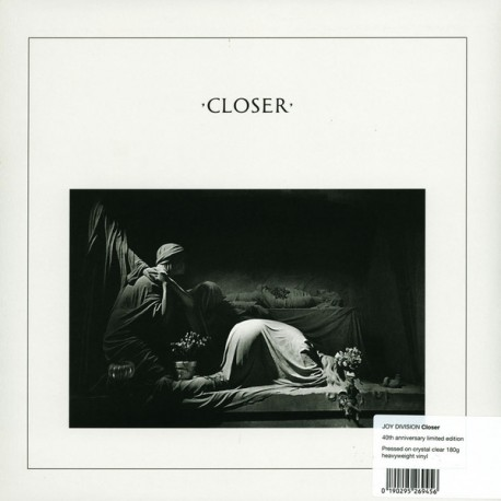 Joy Division: Closer (clear LP)