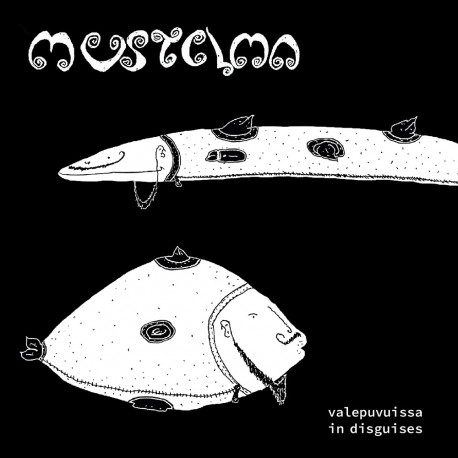 Various Artists: Mustelma Valepuvuissa (5CD)