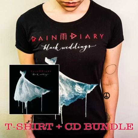 Rain Diary T-Shirt + CD -bundle