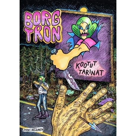 Jyrki Nissinen: Borgtron - Kootut tarinat (kirja)