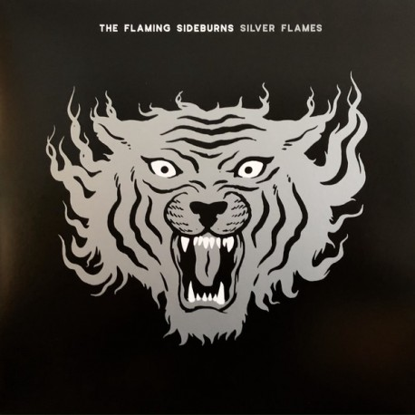 The Flaming Sideburns: Silver Flames (CD)