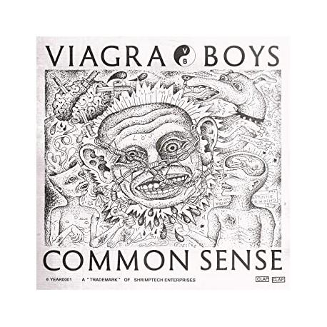 """Viagra Boys: Common Sense (12""""EP)"""