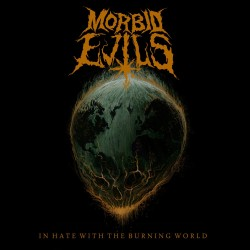 Morbid Evils: In hate with the burning world (LP)