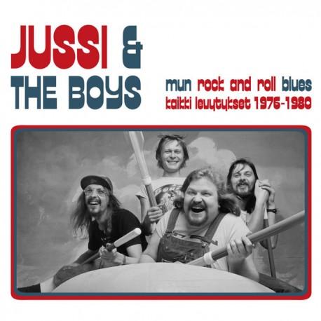 Jussi & The Boys: Mun Rock And Roll Blues – Kaikki Levytykset 1976–1980 (2LP)