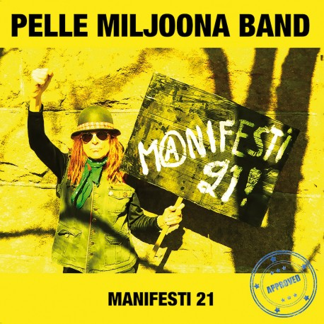 """Pelle Miljoona Band: Manifesti 21 (7""""EP)"""