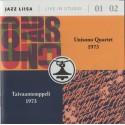 Unisono Quartet / Taivaantemppeli: Jazz Liisa Live In Studio 01 / 02 (CD)