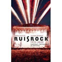 Jukka Kittilä, Jaakko Mikkola: Ruisrock 1970-2020 (book)