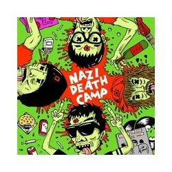 """Nazi Death Camp: Inside the Mind of a Mongoloid (7"""" EP)"""
